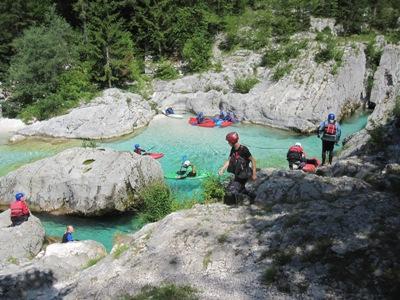 Kamp pri Klinarju, Soča, Goriška