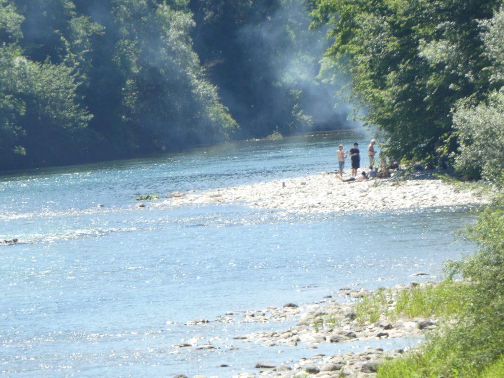 Reka Sava, Podnart, Gorenjska